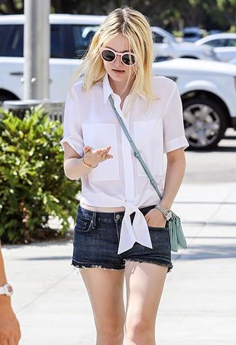 Dakota Fanning à Beverly Hills le 22 août 2013