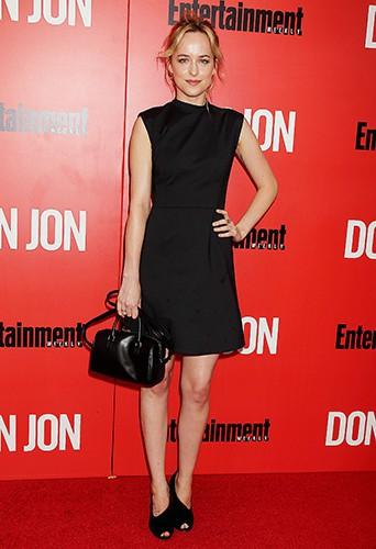 Dakota Johnson à New-York le 12 septembre 2013