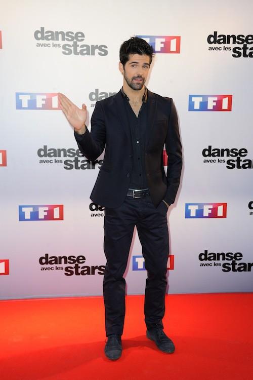Miguel Angel Munoz llors du Photocall DALS 5 à Paris le 10 septembre 2014