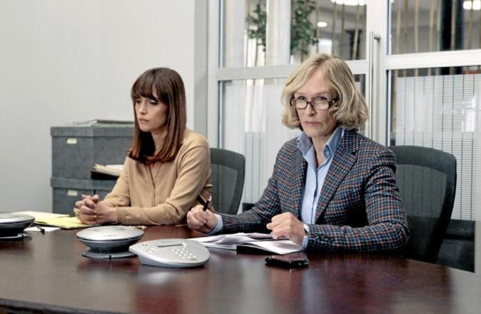 Glenn Close (Patty) et Rose Byrne (Ellen)