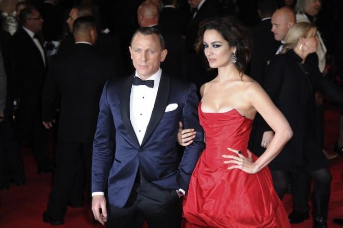 Daniel Craig à l'avant-première de Skyfall à Londres le 23 octobre 2012