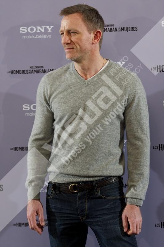 Daniel Craig en promo à Madrid, le 4 janvier 2011.