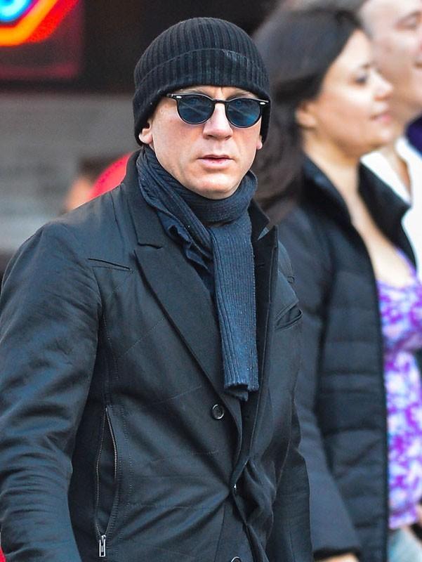 Daniel Craig dans les rues de New York