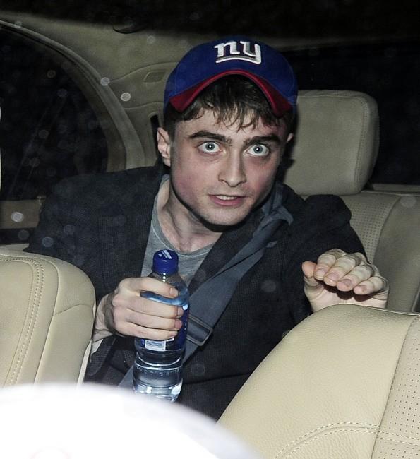 Daniel Radcliffe le 4 juillet 2013 à Londres