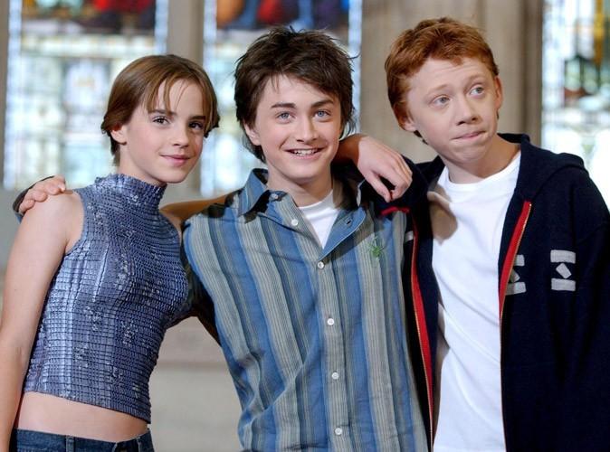 Photos : Emma, Daniel et Rupert en 2002