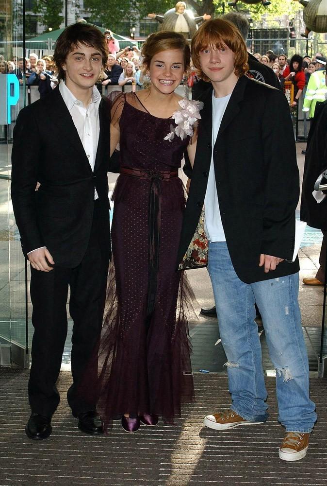 Photos : Emma, Daniel et Rupert en 2004