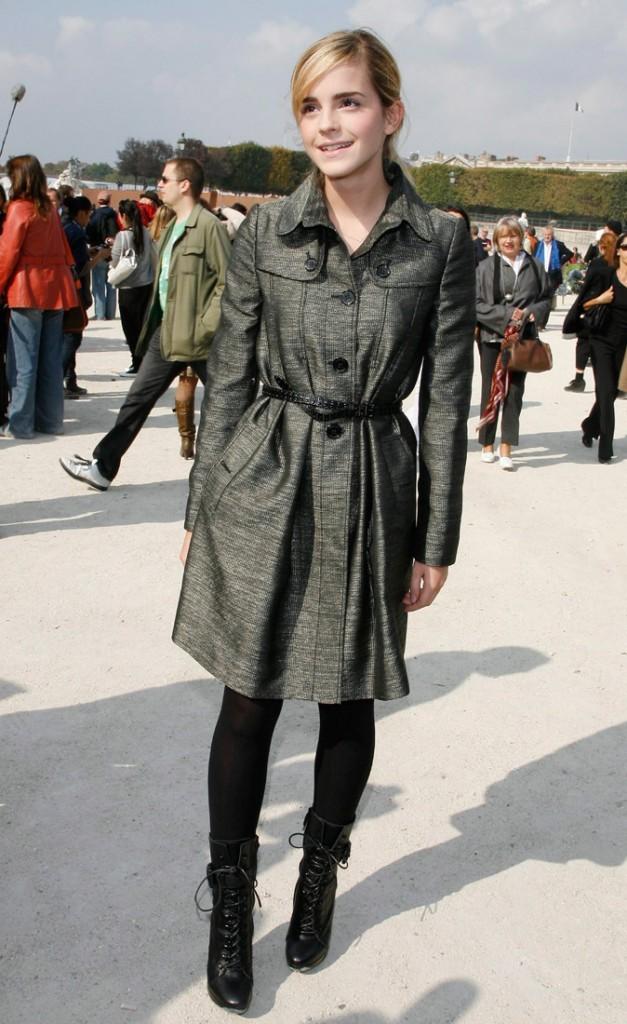 Photos : Emma Watson se rend au défilé Dior, à Paris