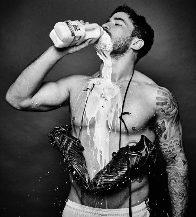 Photos : Danny Cipriani : bodybuildé et savoureusement lacté !