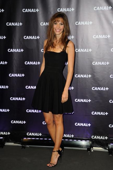 Doria Tillier lors de la soirée de rentrée de Canal + à Paris, le 28 août 2013.