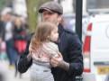 Photos : David Beckham : à Saint-Etienne hier soir, il est déjà de retour à Londres pour passer du temps avec sa petite Harper !