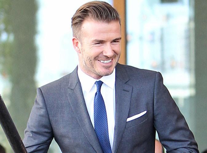 David Beckham : en mode super beau gosse pour annoncer la création de sa propre équipe de foot à Miami !