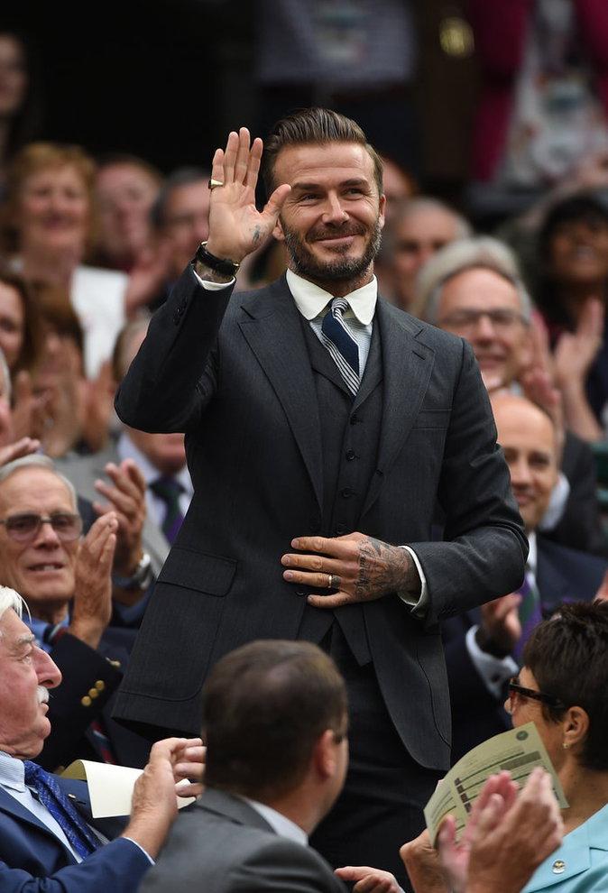 David Beckham fait des infidélités au football...