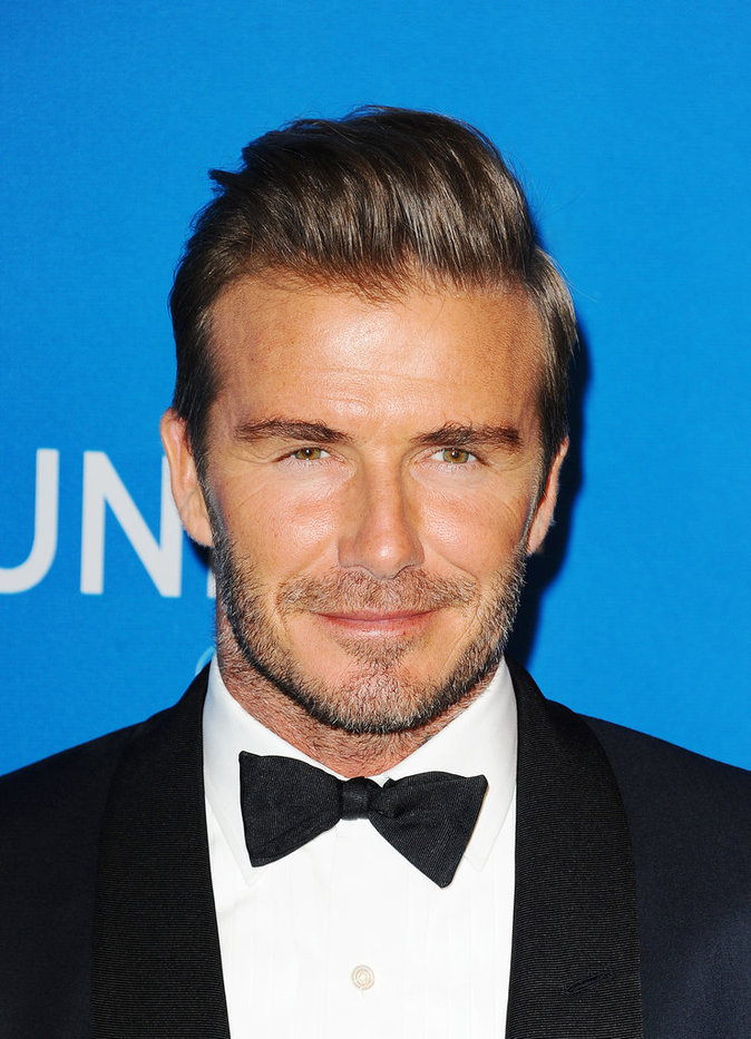 Photos : David Beckham honoré devant les sexy Selena Gomez et Mariah Carey !