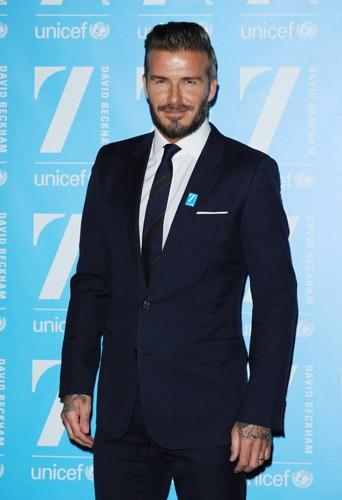 David Beckham : il embarque ses enfants avec l'Unicef !
