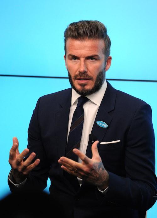 Photos : David Beckham : il embarque ses enfants avec l'Unicef !