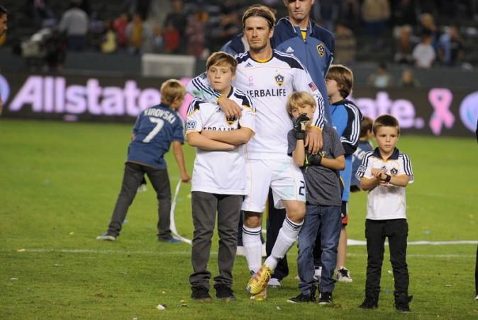 Tous les Beckham aux couleurs des Galaxy !