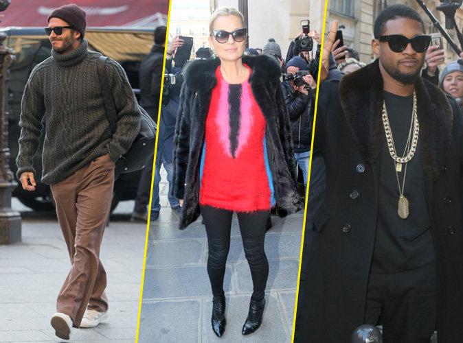 David Beckham, Kate Moss, Usher : Tous présents pour le défilé Louis Vuitton !