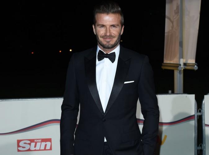 David Beckham : pas besoin de Victoria pour incarner l'élégance britannique à la perfection !