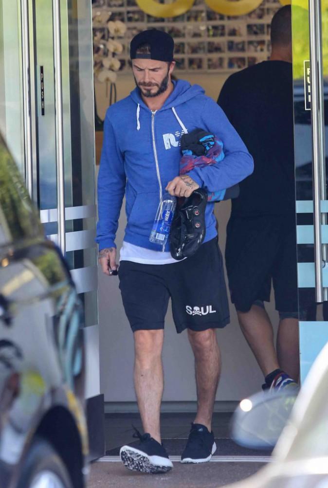 David Beckham : reconnu par un policier, il échappe à une amende !