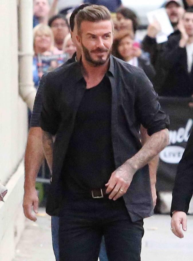 David Beckham : sa fille Harper le trouve potelé !