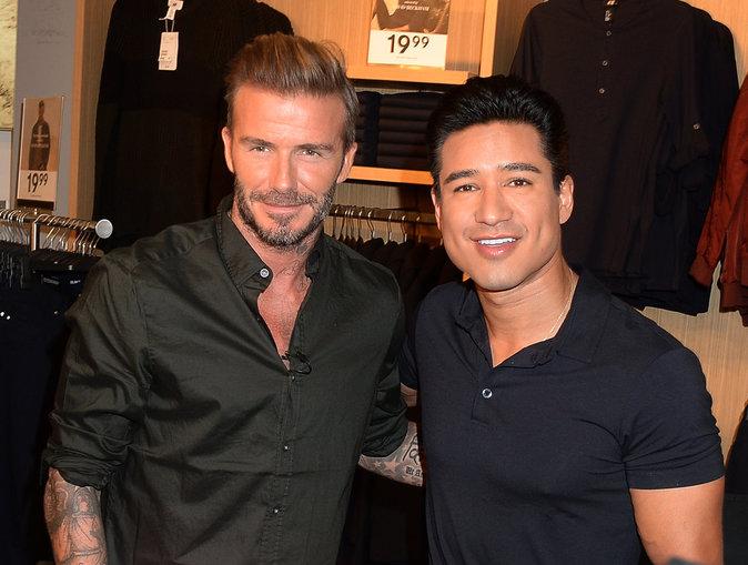 David Beckham collabore avec H&M depuis plusieurs années