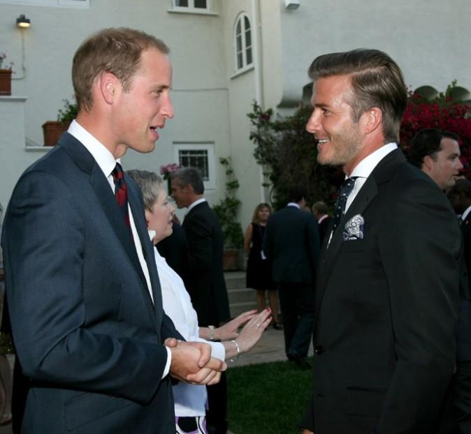 David Beckham donne des conseils eu Prince William en matière de bébé!