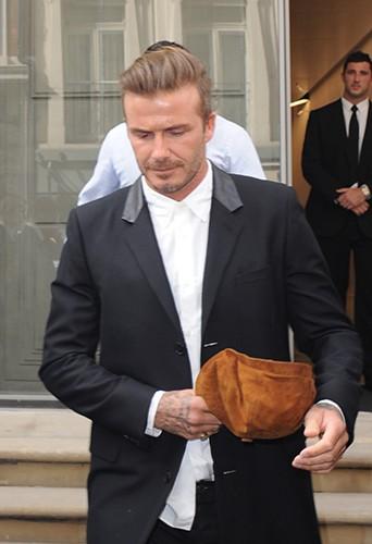 David Beckham à Londres le 25 septembre 2014