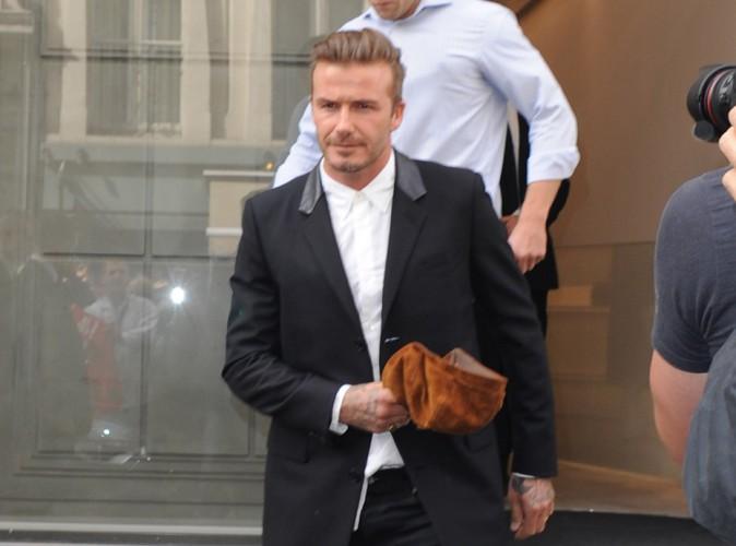 David Beckham : Victoria absente, il assure lui-m�me l'inauguration de sa boutique !