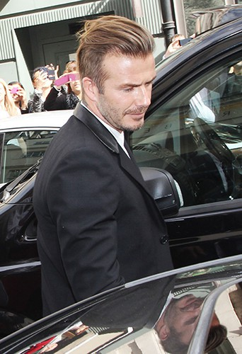 David Beckham à Londres le 25 septembre 2014