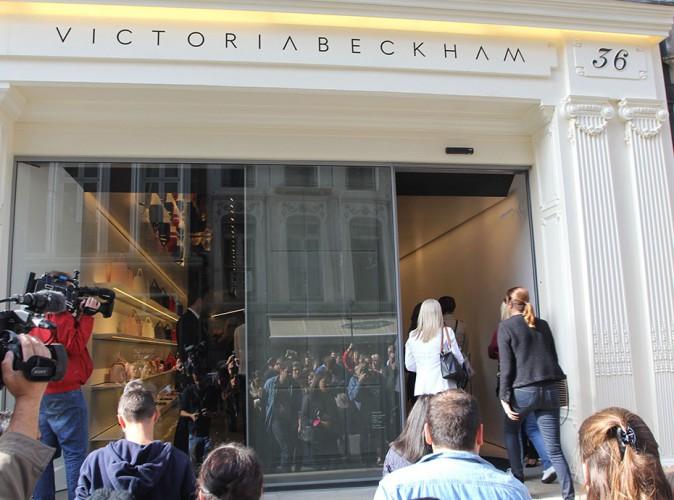 La famille de Victoria Beckham à Londres le 25 septembre 2014