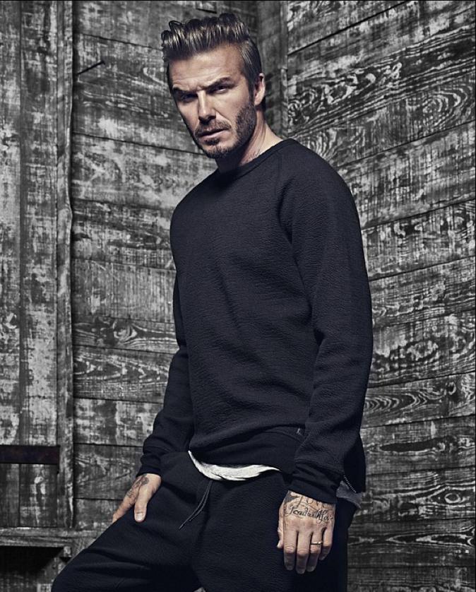 David Beckham : viril et sauvage pour H&M