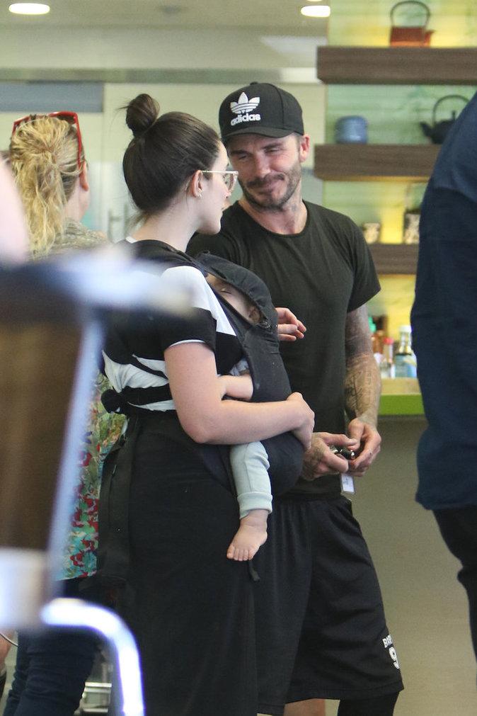Photos : David Bekcham : exit Victoria ? Il craque sur une jeune maman !