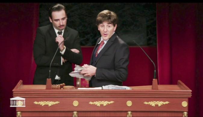 Le Palmashow : pastiche d'une séance à l'Assemblée nationale