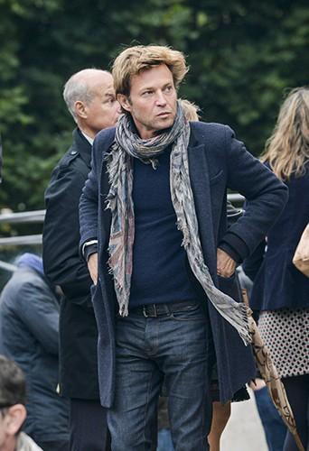 Laurent Delahousse à Versailles le 10 juillet 2014