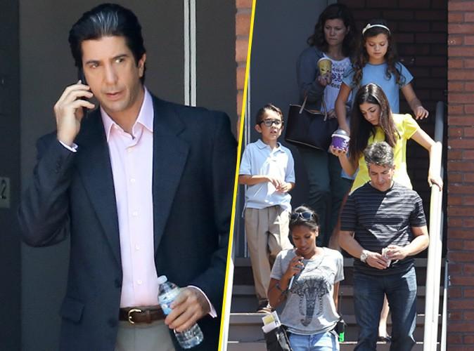 David Schwimmer en Robert Kardashian : les enfants s'en mêlent !