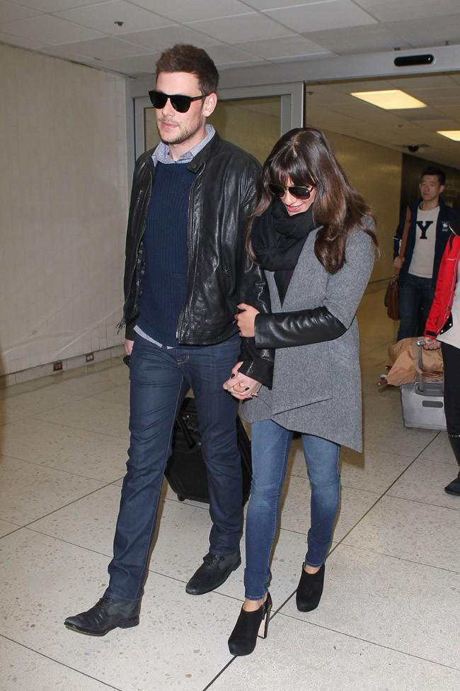 Cory et Lea toujours unis