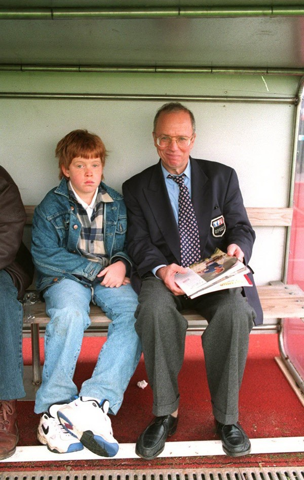 Thierry Roland décédé à l'âge de 74 ans ... (avec son fils Gary)
