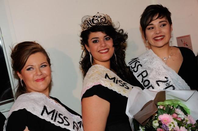 Julia Castelli, Miss Ronde France 2013, Paris, 19 janvier 2013.
