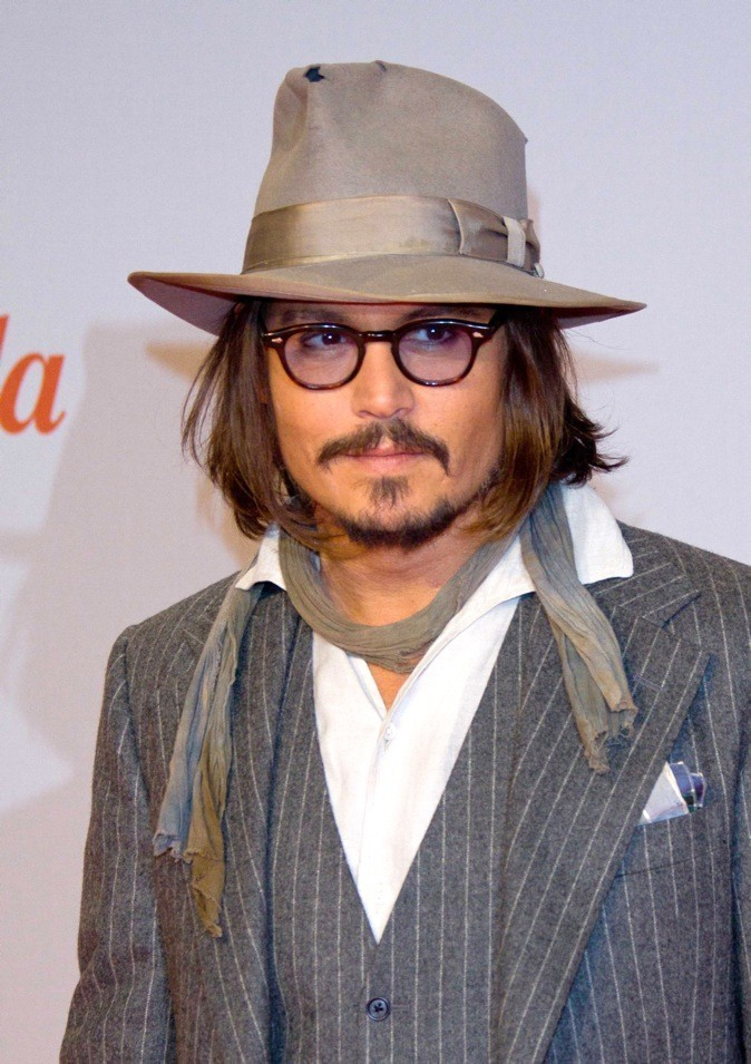 Johnny Depp : 8ème position !