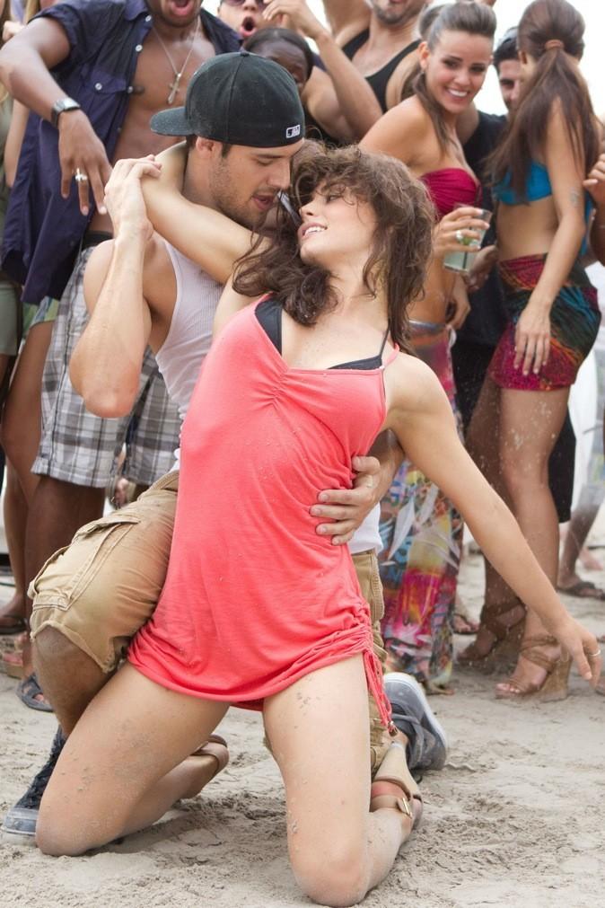Première danse sur la plage !