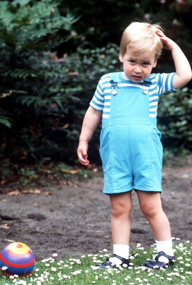 Photos : le Prince William enfant