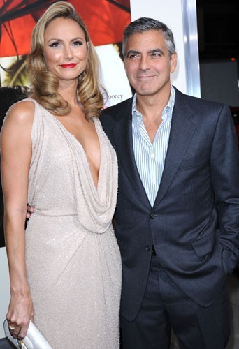 George Clooney, raide dingue de Stacey Keibler!