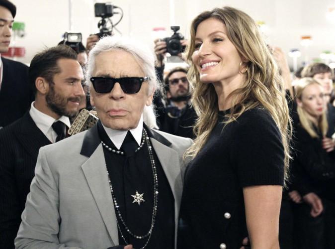 Photos : défilé croisière Chanel 2016 : Kristen Stewart et Gisele Bündchen toujours là pour Karl Lagerfeld !