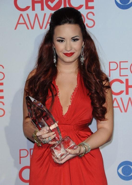 Demi Lovato en janvier dernier !