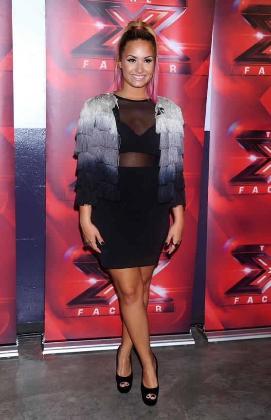 Demi Lovato pour les auditions d'X Factor à San Francisco le 16 juin 2012
