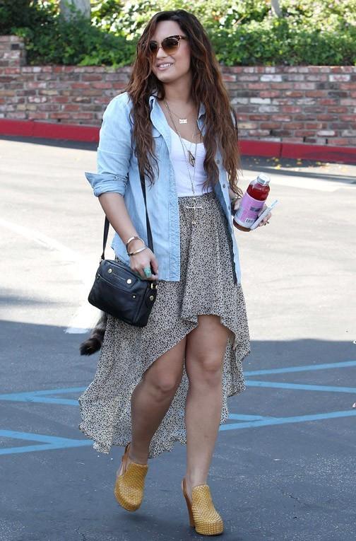 Demi Lovato photographiée hier à Beverly Hills !