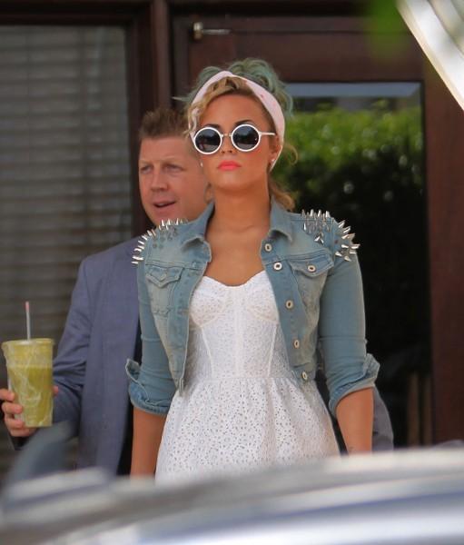 Demi Lovato à Miami, le 26 juillet 2012.