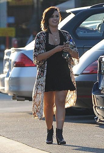 Demi Lovato à Los Angeles le 23 août 2014
