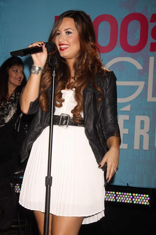 Elle a donné un concert à New York hier