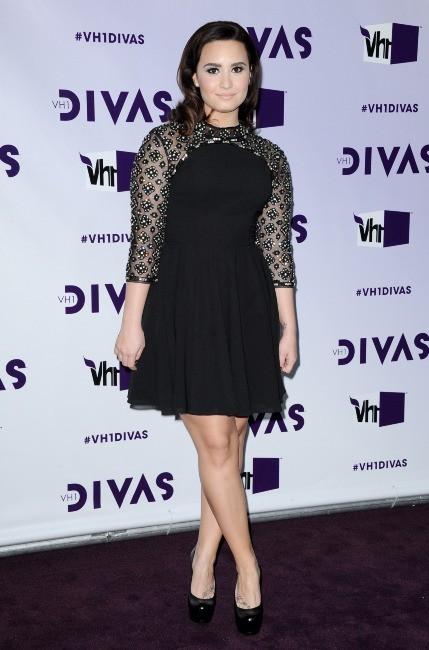 Demi Lovato lors de la soirée VH1 Divas à Los Angeles, le 16 décembre 2012.